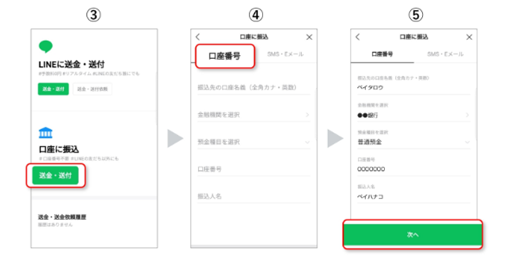 LINE Payアプリを使う