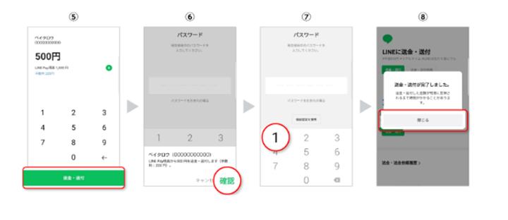 LINEアプリを使う方法
