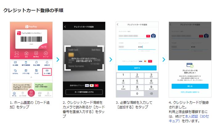 2.アプリ上にカードを追加する
