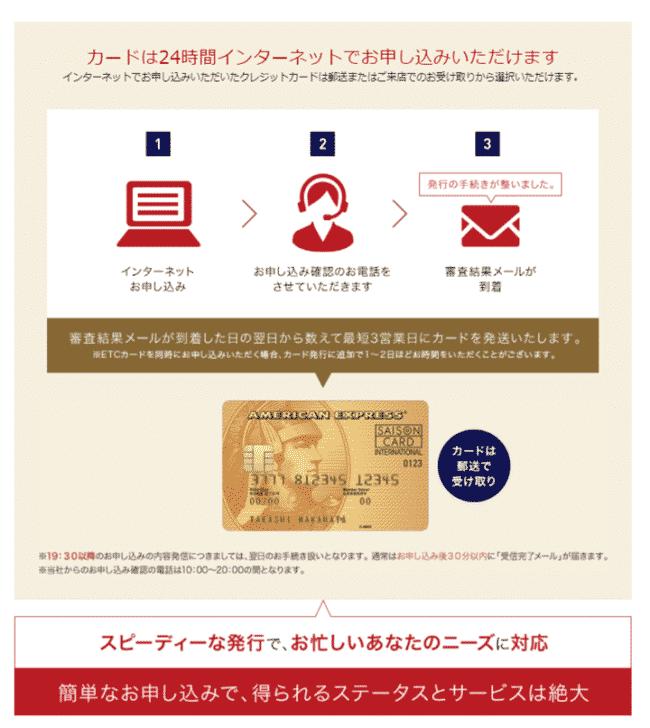 4.セゾンゴールド・アメリカン・エキスプレス・カード