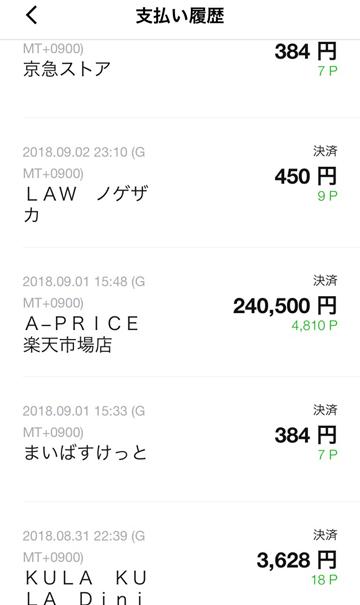 LINE Payカードを申し込んでLINE Payでどこでも2%還元を!