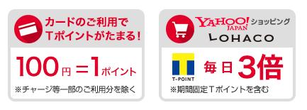3位.Yahoo! JAPANカード