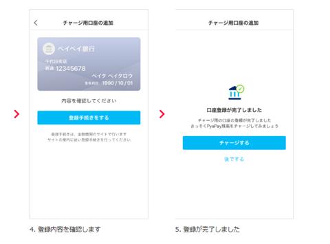 3.銀行口座を登録する