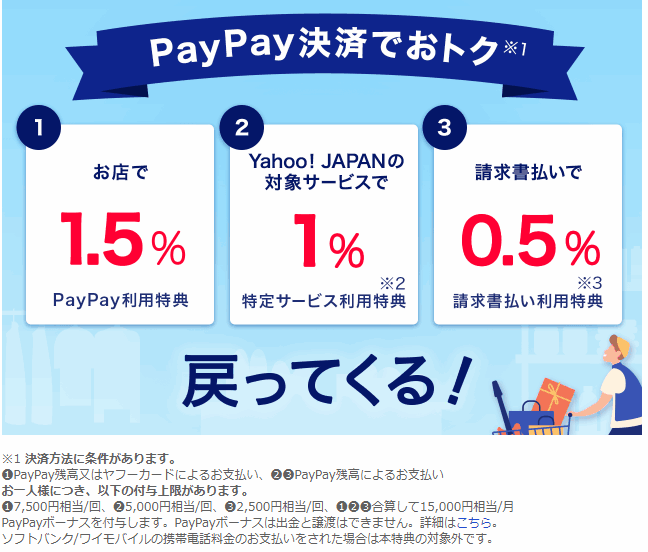 PayPayがおすすめの理由