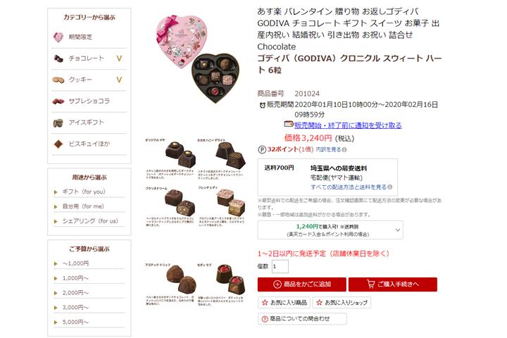 高級チョコレートを買ってポイントを5倍にする「お得技」の考察