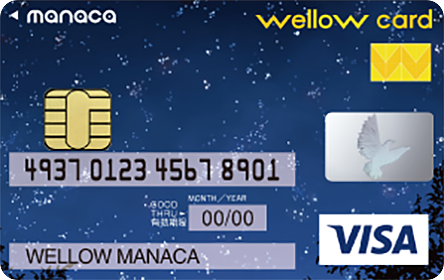 wellow card manaca